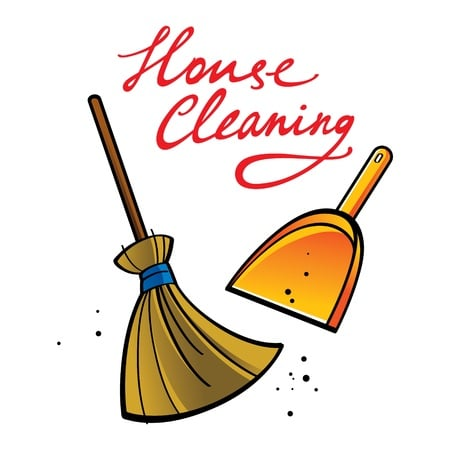 House Cleaning white lotus cartoon